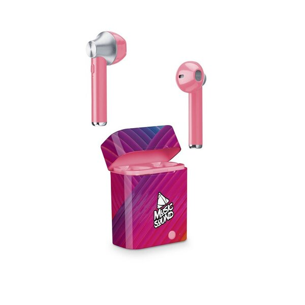 Слушалки Cellularline Music Sound TWS4 purple