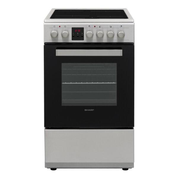 Готварска печка (ток) Sharp KF-56FVDD22IM-CH , INOX , Керамични