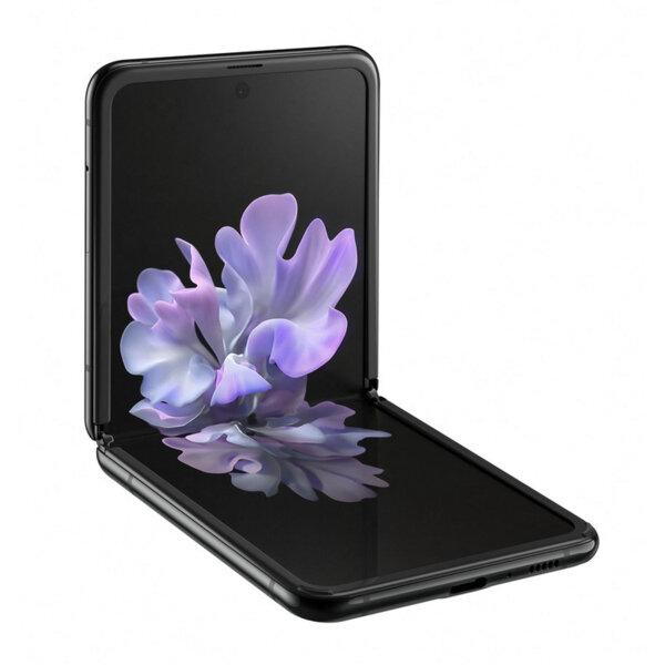 Смартфон Samsung GALAXY Z FLIP BLACK SM-F700FZKD  , 256 GB, 8 GB