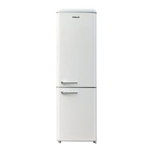 Хладилник с фризер Finlux FBVAN-260 , 252 l, A+ , Слонова кост , Статична