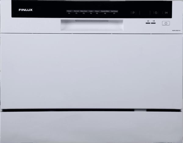 Миялна машина Finlux WQP6-3602F-W , 6 комплекта, А+ измиване/сушене