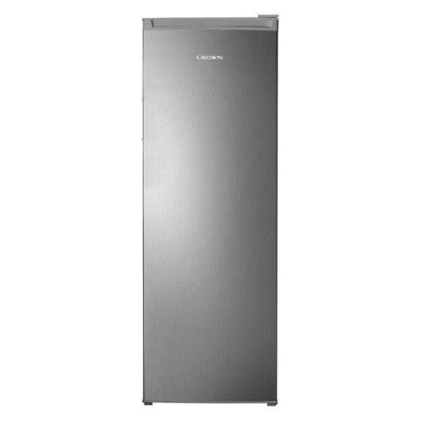 Хладилник Crown REF-330IX , 331 l, F , Инокс