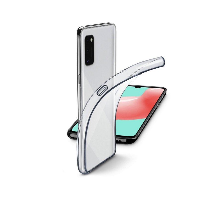 Калъф за смартфон Cellularline FINE SAMSUNG GALAXY A41 ПРОЗРАЧЕН