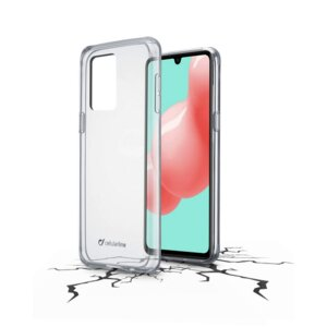Калъф за смартфон Cellularline CLEARDUO SAMSUNG GALAXY A41 ТВЪРД