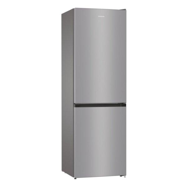 Хладилник с фризер Gorenje RK6191ES4 , 314 l, F , Сив , Статична