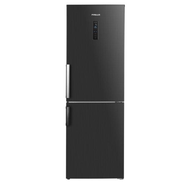Хладилник с фризер Finlux FBND-315HIX , 323 l, F , No Frost , Инокс