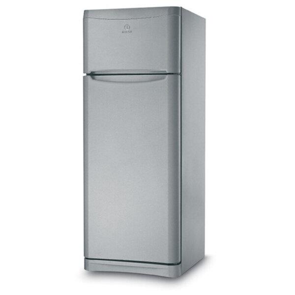 Хладилник с горна камера Indesit TAA 5 Sil*** , 415 l, A+ , Сив , Статична