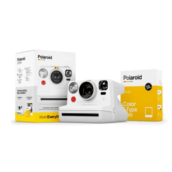 Фотоапарат за моментни снимки Polaroid NOW White Everything Box 006025