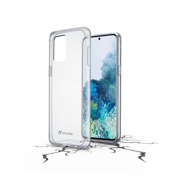 Калъф Cellularline CLEARDUO SAMSUNG GALAXY A21s ТВЪРД