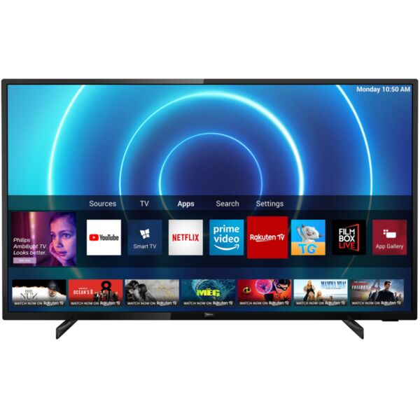 Телевизор Philips 50PUS7505/12 , 127 см, 3840x2160 UHD-4K , 50 inch, LED  , Saphi , Smart TV