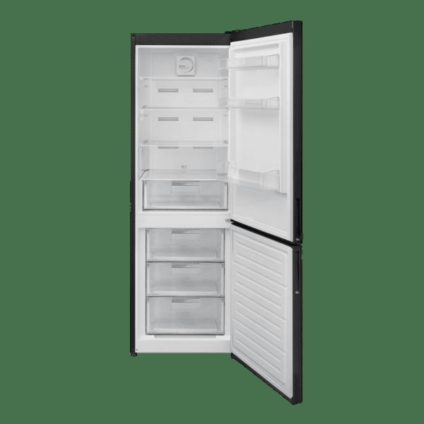 Хладилник с фризер Finlux FXCA 3797NF BK , 295 l, F , No Frost , Черен
