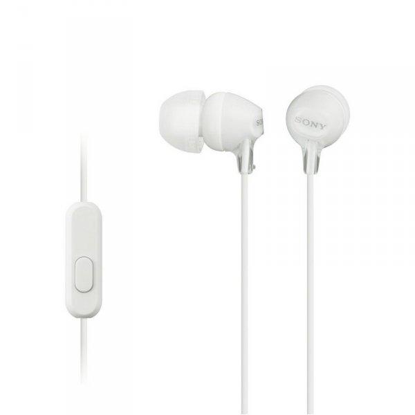 Слушалки с микрофон Sony MDR EX15APW