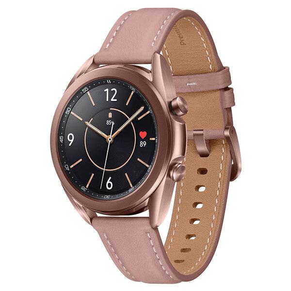 Смарт часовник Samsung GALAXY WATCH 3 R850NZD BRONZE 41MM , 1 , 1.20 , DUAL CORE , Друга OS
