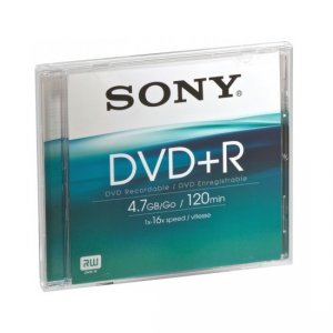 Медия Sony DVD+R DPR120AS16 52042120