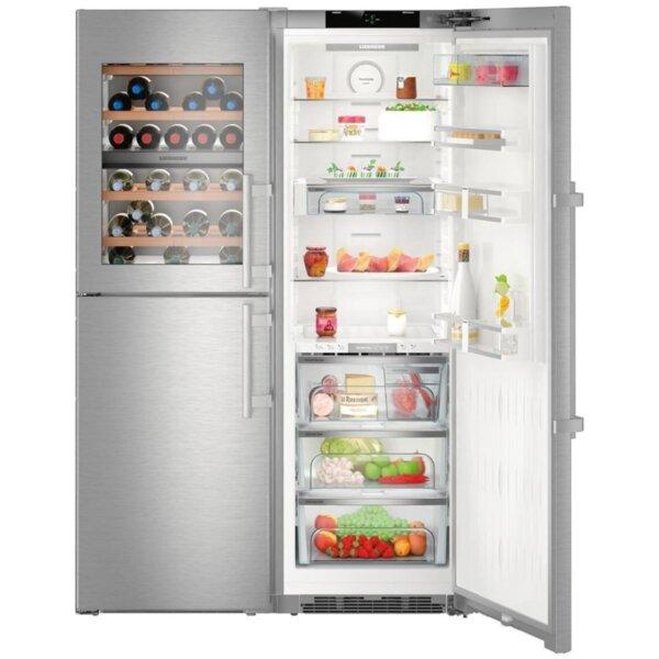 Хладилник с фризер Liebherr SBSes 8496 , 645 l, A+++                                                                                                                             , No Frost , И
