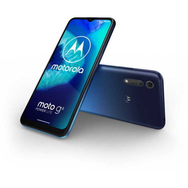 Смартфон Motorola MOTO G8 POWER LITE 64/4 DS ROYAL BLUE , 4 GB, 64 GB