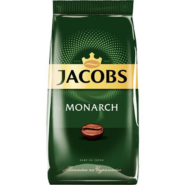 Кафе JACOBS MONARCH НА ЗЪРНА  1 КГ.