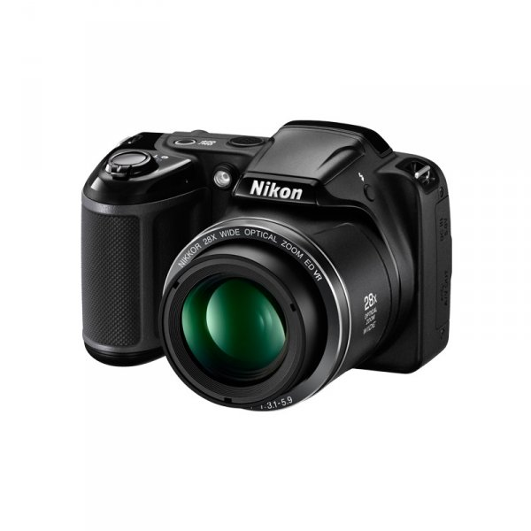 Фотоапарат Nikon COOLPIX L340 BLACK + ЗАРЯДНО + 4XAA NIMH