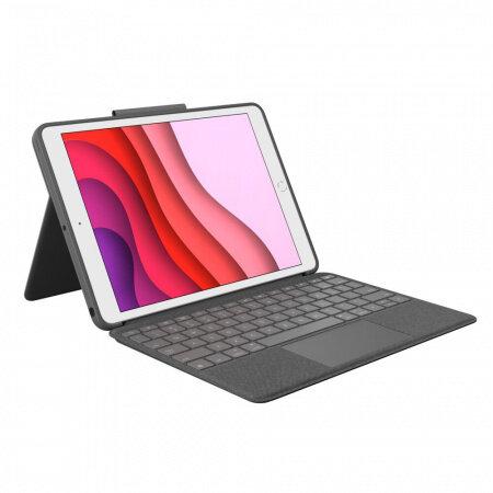 Клавиатура Logitech Combo Touch с Trackpad за iPad 7 920-009629