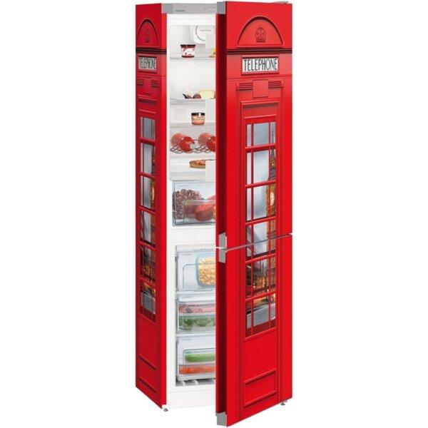 Хладилник с фризер Liebherr CNsl 43C3-20 , 304 l, A++ , No Frost , Червен