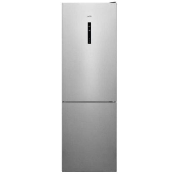 Хладилник с фризер AEG RCB632E5MX , 331 l, E , No Frost , Сив