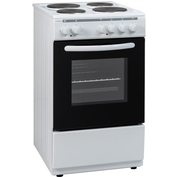 Готварска печка (ток) Crown 5400A , 4 ток , Бял