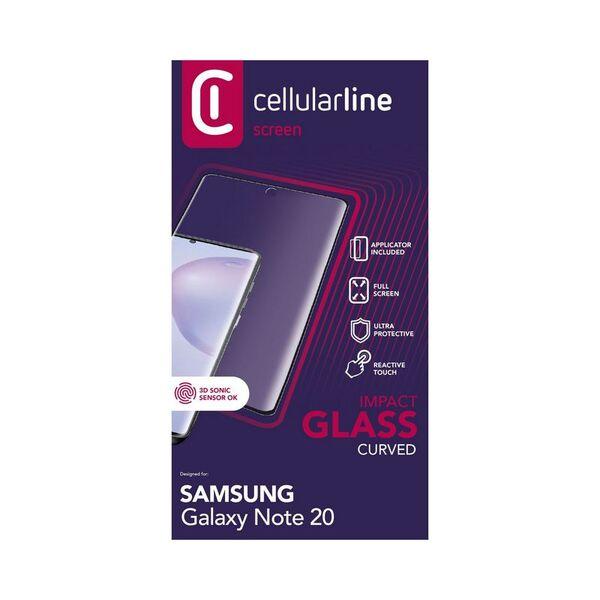 Протектор за дисплей Cellularline SAMSUNG GALAXY Note 20 ЗАКАЛЕНО СТЪКЛО