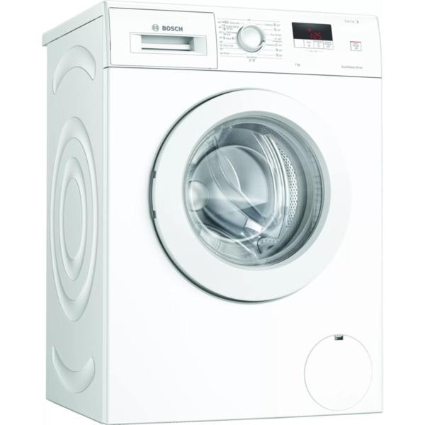 Пералня Bosch WAJ20061BY , 1000 об./мин., 7.00 kg, D , Бял