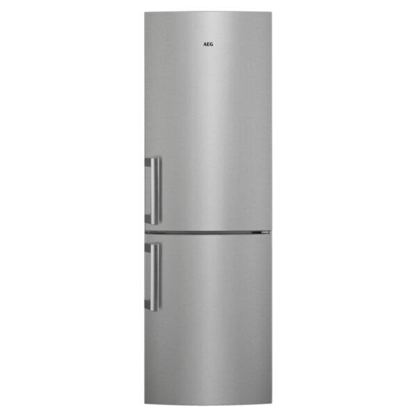 Хладилник с фризер AEG RCB534E1LX , 330 l, E , Сив , Статична