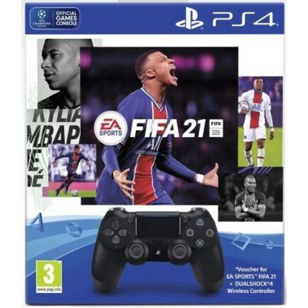 Джойстик PlayStation DualShock 4 + FIFA 21