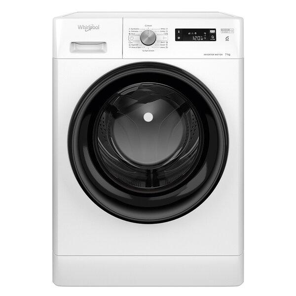 Пералня Whirlpool FFS 7238 B EE , 1200 об./мин., 7.00 kg, D , Бял