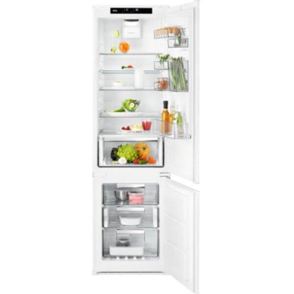 Вграден хладилник с фризер AEG SCE819E5TS , 268 l, E , No Frost