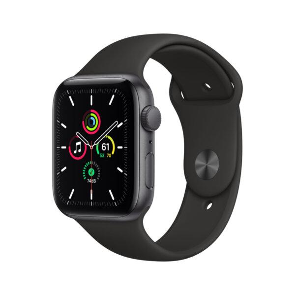 Смарт часовник Apple Watch SE 44mm Space Gray/Black Sport Band mydt2 , 1 , 1.73 , 32 , S5 64-bit Dual Core