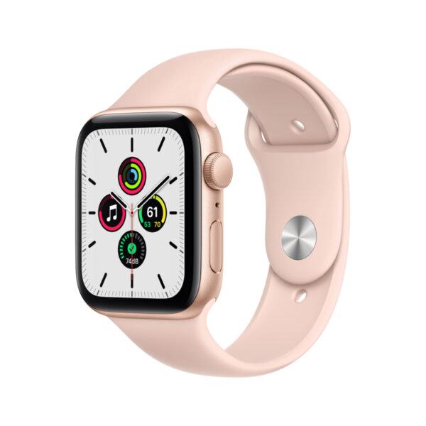 Смарт часовник Apple Watch SE 44mm Gold/Pink Sport Band mydr2 , 1 , 1.73 , 32 , S5 64-bit Dual Core