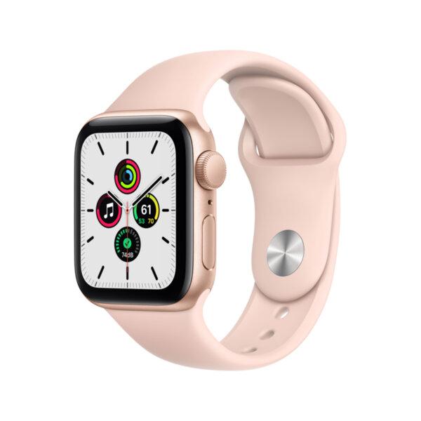 Смарт часовник Apple Watch SE 40mm Gold/Pink Sport Band mydn2 , 1 , 1.57 , 32 , Apple S5 64-bit Dual Core