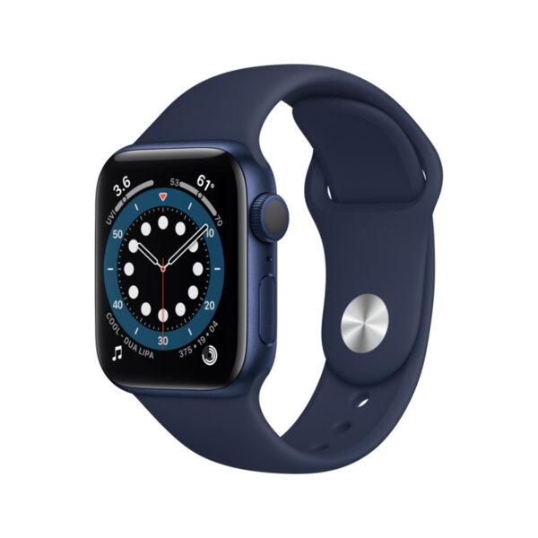 Смарт часовник Apple Watch 6 40mm Blue/Navy Sport Band mg143 , 1 , 1.57 , 32 , Apple S6 Dual Core