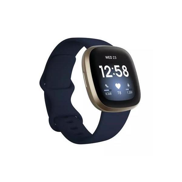 Смарт часовник Fitbit VERSA 3 Midnight/Soft Gold FB511GLNV , 1.58 , 4