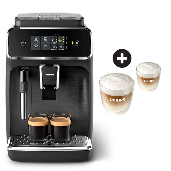 Кафеавтомат PHILIPS EP2220/10 + Комплект чаши