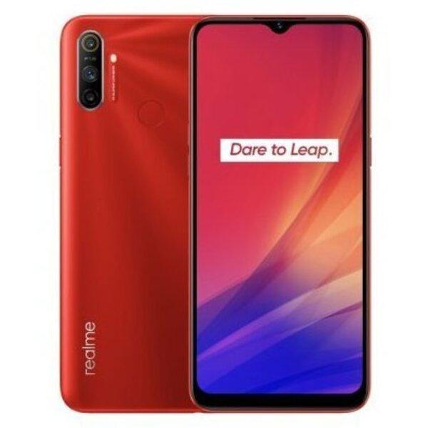 Мобилен телефон Realme C3 2020 64/3 DS RED