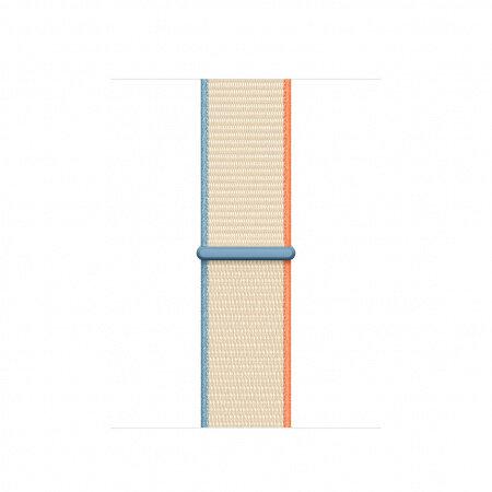 Apple Watch 40mm Band: Cream Sport Loop my9y2