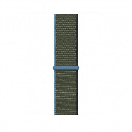 Apple Watch 44mm Band: Inverness Green Sport Loop mya72
