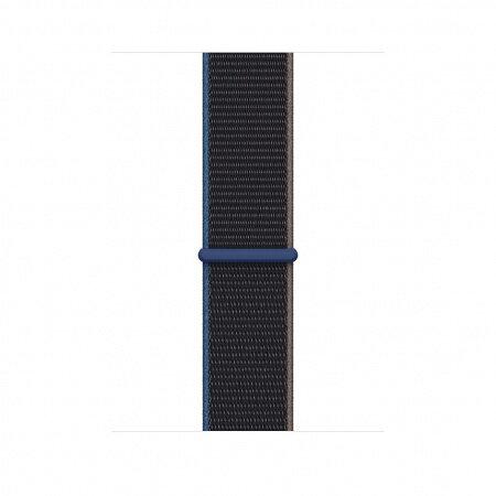 Apple Watch 44mm Band: Charcoal Sport Loop myaa2