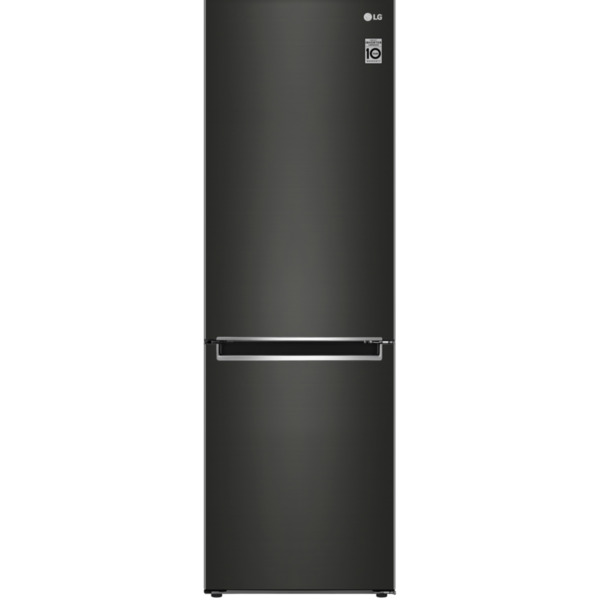 Хладилник с фризер LG GBB61BLJMN , E , No Frost