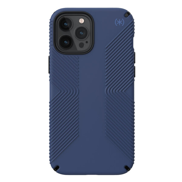 Калъф за смартфон Speck iPhone 12 Pro Max Presidio2 Grip Blue 138500-9128