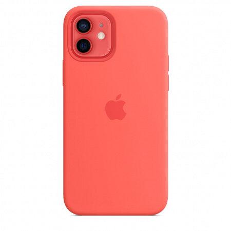 Калъф Apple iPhone 12/12 Pro Silicone Case Pink Citrus mhl03