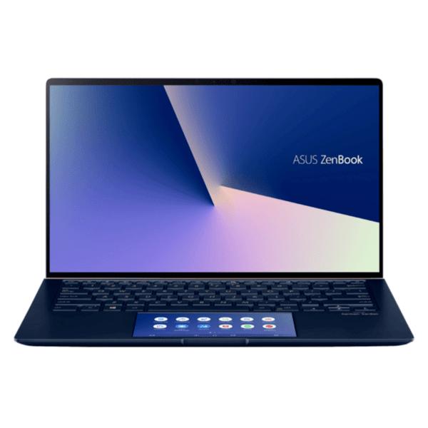 Ноутбук ASUS ZENBOOK 14 UX434FQC-WB501T , 14.00 , 512GB SSD , 8 , Intel Core i5-10210U QUAD CORE , NVIDIA GeForce MX350 2GB , Windows