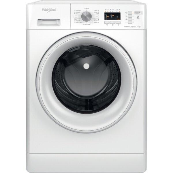 Пералня Whirlpool FFL 7238 W EE , 1200 об./мин., 7.00 kg, D , Бял