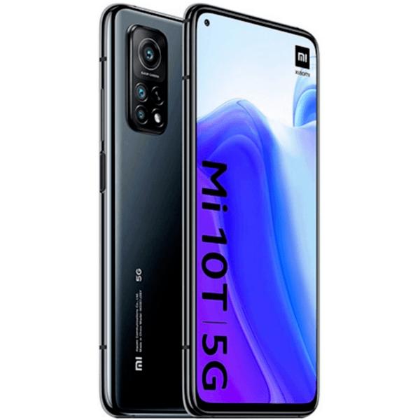 Смартфон Xiaomi MI 10T 128/6 DS BLACK MZB07ZIEU , 128 GB, 6 GB