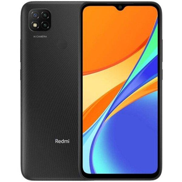 Смартфон Xiaomi REDMI 9C 32/2 DS MIDNIGHT GREY MZB9981EU/9978EU , 2 GB, 32 GB