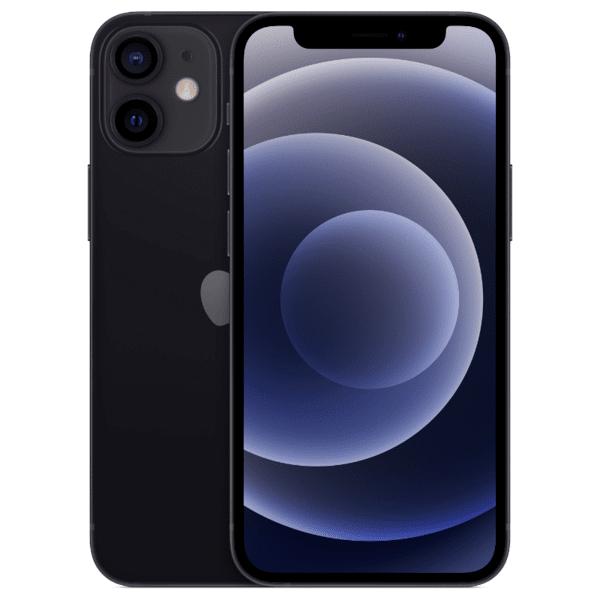 Мобилен телефон Apple iPhone 12 mini 64GB Black mgdx3 , 64 GB